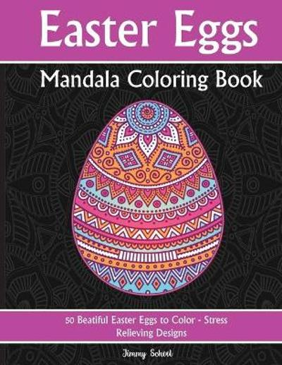 Easter Eggs Mandala Coloring Book - Henry Class