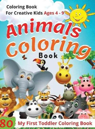 Animal Coloring Book Ages 4 -9 - Preschool Zone