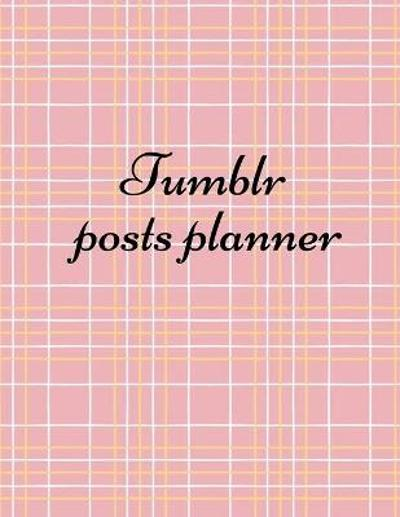 Tumblr posts planner - Kit Costra