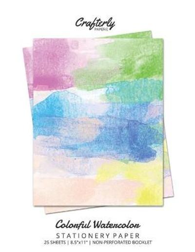 Colorful Watercolor Stationery Paper - Crafterly Paperie