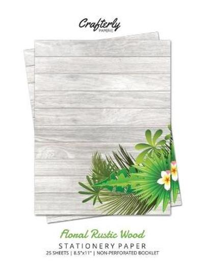 Floral Rustic Wood Stationery Paper - Crafterly Paperie