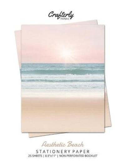 Aesthetic Beach Stationery Paper - Crafterly Paperie