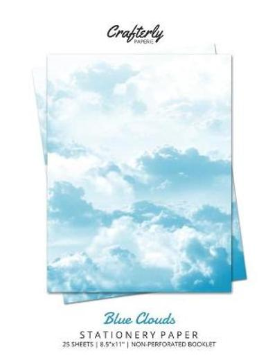 Blue Clouds Stationery Paper - Crafterly Paperie