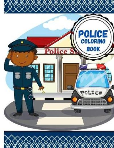 Police coloring book - Urie Publishing