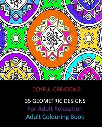 35 Geometric Designs For Relaxation - Joyful Creations