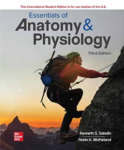 ISE eBook Online Access for Essentials of Anatomy & Physiology - Kenneth Saladin