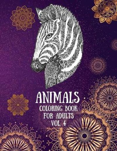 Animals Coloring Book For Adults vol. 4 - Over The Rainbow Publishing