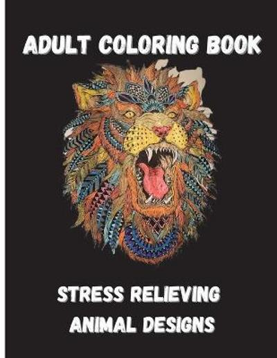 Animal Adult Coloring Book - O Claude