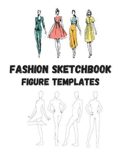 Fashion Sketchbook Figure Template - O Claude