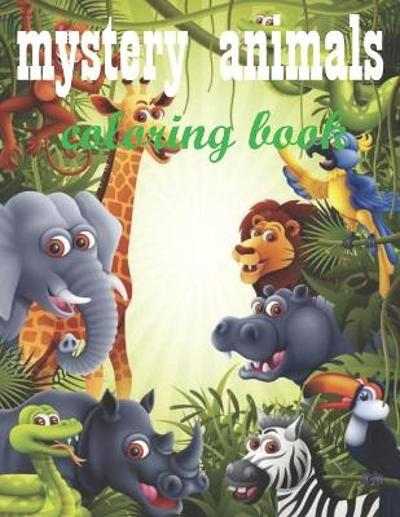 mystery animals coloring book - Sophia Book House