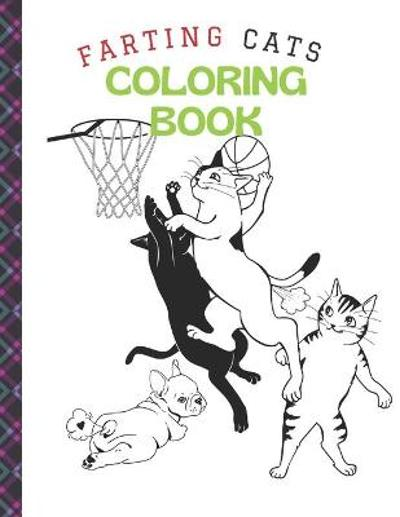 Farting Cats Coloring Book - Kraim Art