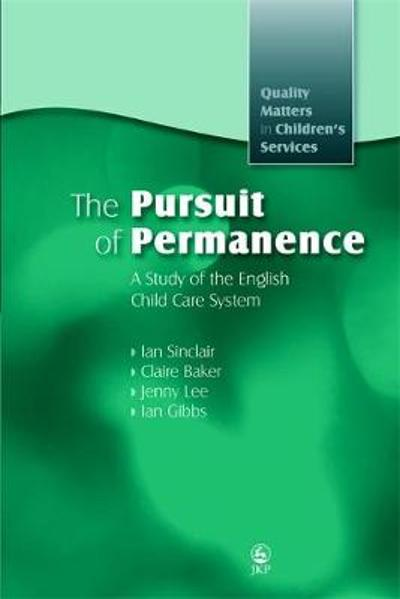 The Pursuit of Permanence - Ian Sinclair
