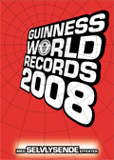 Guinness world records 2008 - Lindy Andersen