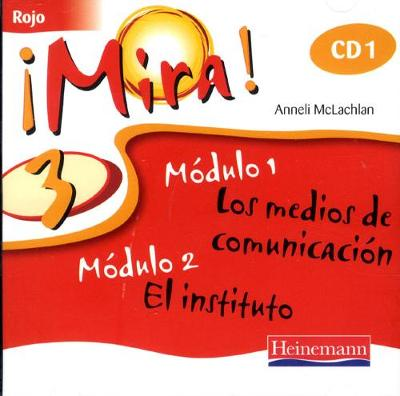 Mira 3 Rojo Audio CD (Pack of 3) -