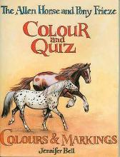 The Allen Horse and Pony Frieze, Colour and Quiz - Jennifer Bell