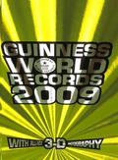 Guinness World Records 2009 - Lindy Andersen (red)
