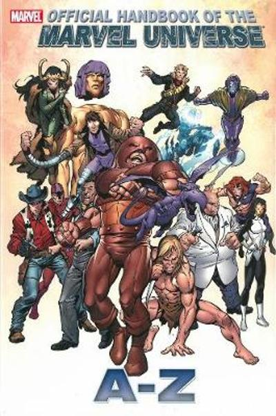 Official Handbook Of The Marvel Universe A To Z Vol.6 - Marvel Comics