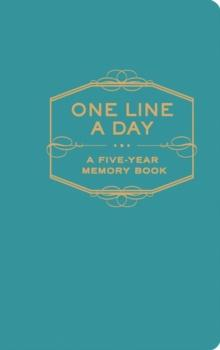 One line a day. A five year memory book -