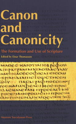 Canon and Canonicity - Einar Thomassen