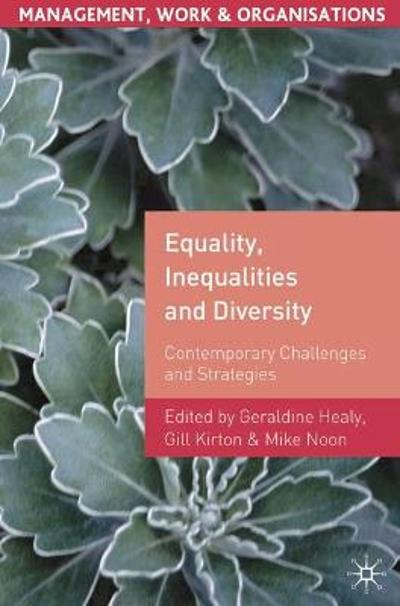 Equality, Inequalities and Diversity - G. Healy