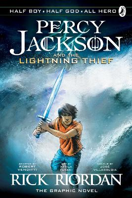 Percy Jackson and the Lightning Thief: The Graphic Novel (Book 1) - Rick Riordan