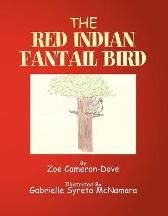 The Red Indian Fantail Bird - Zoe Cameron-Dove