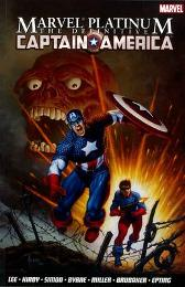 Marvel Platinum: The Definitive Captain America - Stan Lee Jack Kirby