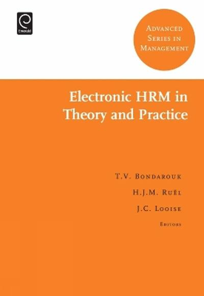 Electronic HRM in Theory and Practice - Ron Sanchez