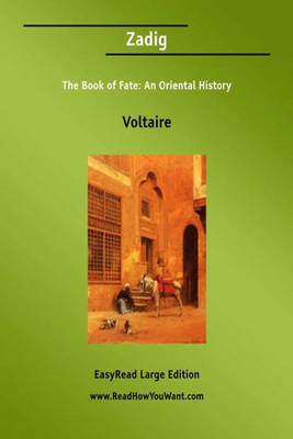 Zadig the Book of Fate - Voltaire