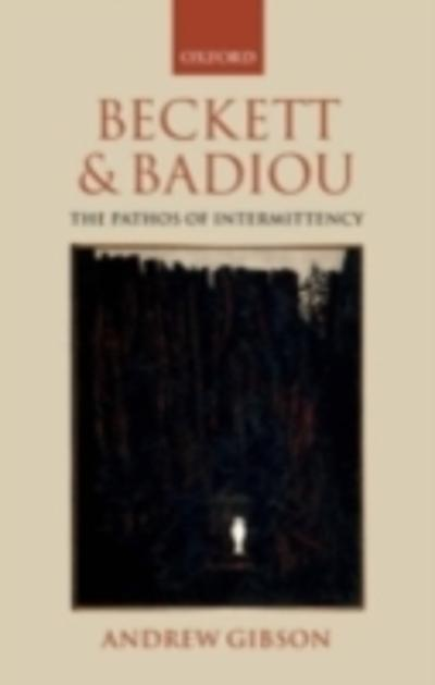 Beckett and Badiou - Andrew Gibson