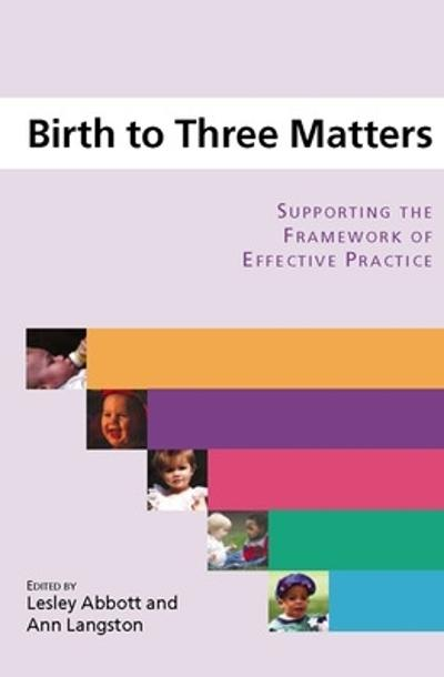 BIRTH TO THREE MATTERS - Lesley Abbott