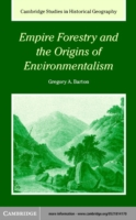 Empire Forestry and the Origins of Environmentalism - Barton