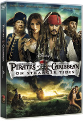 DVD The Pirates of the Caribbean 4 On St -