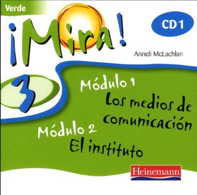 Mira 3 Verde Audio CD (Pack of 3) -