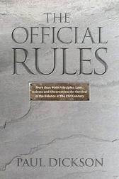 The Official Rules - Paul Dickson