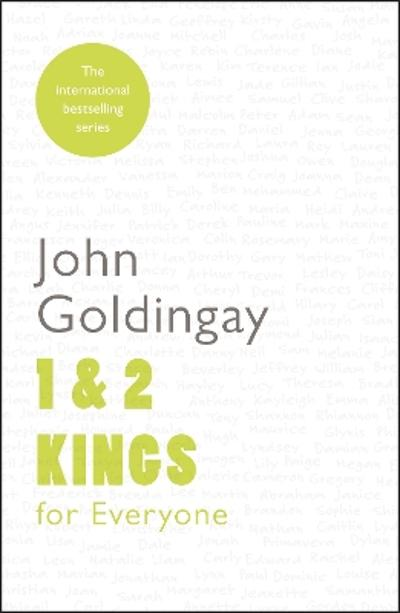 1 and 2 Kings for Everyone - John Goldingay
