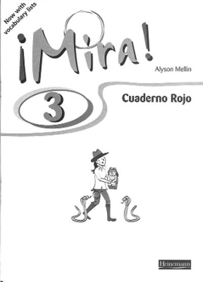 Mira 3 Rojo Workbook (Pack of 8) -