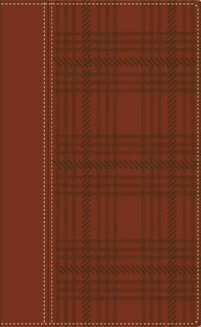 RVR Biblia De Referencia Thompson, Tartan Marron/Verde - Zondervan Publishing