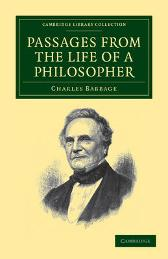Passages from the Life of a Philosopher - Charles Babbage