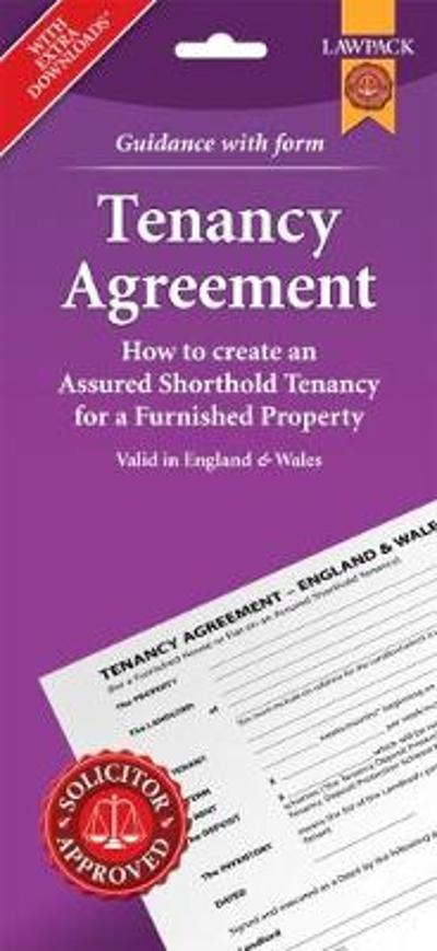 Furnished Tenancy Agreement Form Pack -