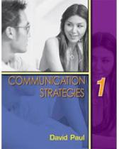 Communication Strategies 1 - David Paul