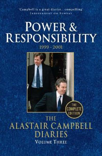 Diaries Volume Three - Alastair Campbell
