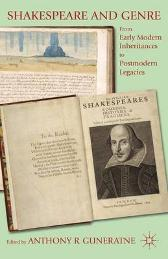 Shakespeare and Genre - Anthony R. Guneratne