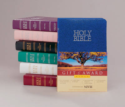 NIV Deluxe Gift and Award Bible Burgundy Case of 32 - Zondervan Publishing
