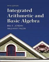 Integrated Arithmetic and Basic Algebra - Bill Jordan William Palow