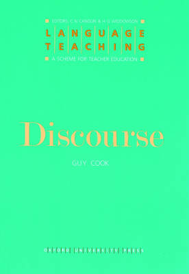 Discourse - Guy Cook