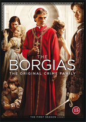 DVD The Borgias -