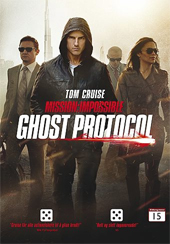 DVD Mission impossible Ghost Protocol -
