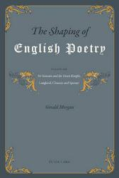 The Shaping of English Poetry - Gerald Morgan