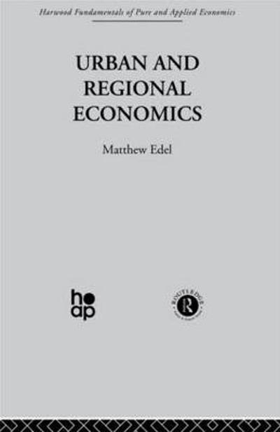Urban and Regional Economics - Matthew Edel